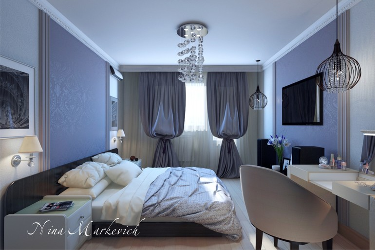 Новый проект. двухкомнатная квартира в п-44т. Часть 1 спальн.