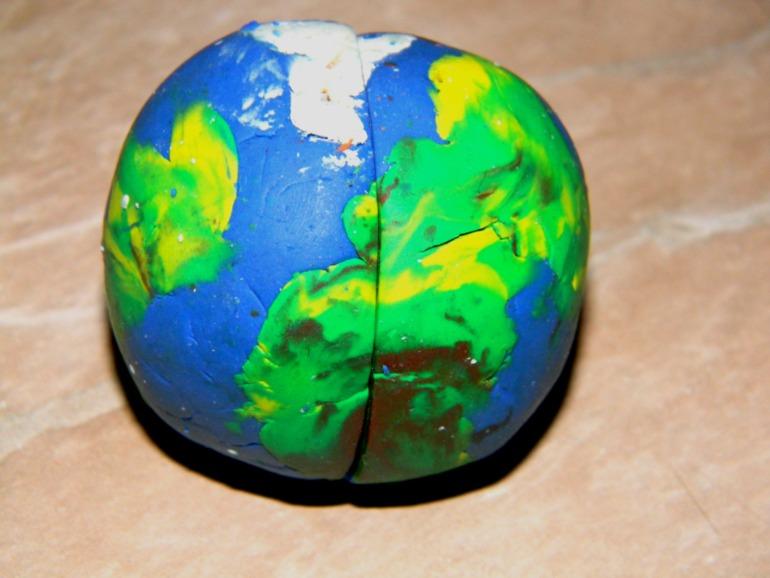 Земля в разрезе...