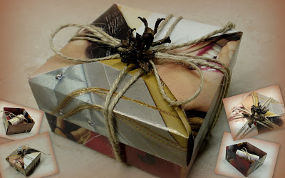 Упаковка подарка деньги 74