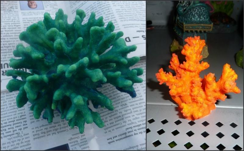 Искусственный коралл своими руками для аквариума