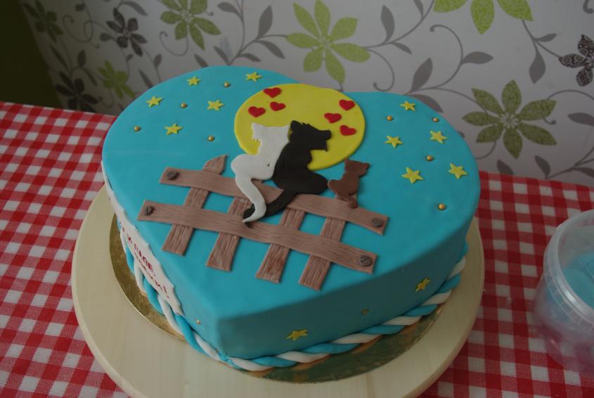 Торт из мастики мужу на день рождения своими руками