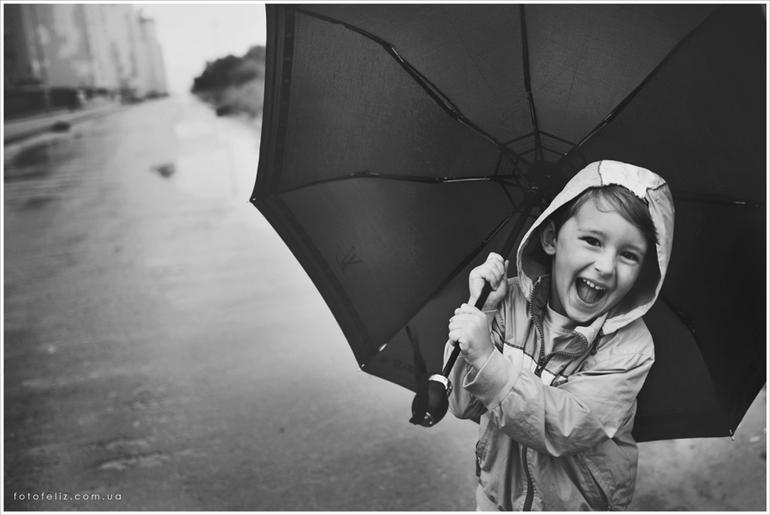 Дождь в радость:)