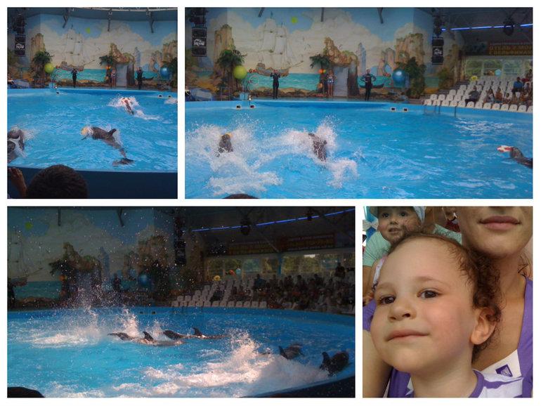 Дельфинарий или 25 День в Украине.