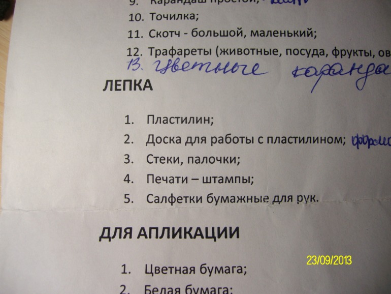 Правила приема в детский сад и список необходимых для поступления документов.