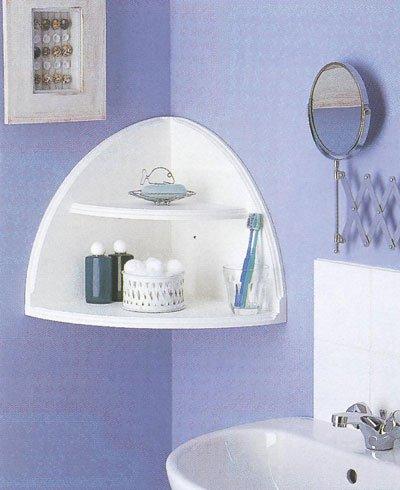 Полочки для ванной комнаты своими руками из подручных материалов