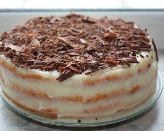 Потрясающий торт из творожного теста, который печется на сковороде.