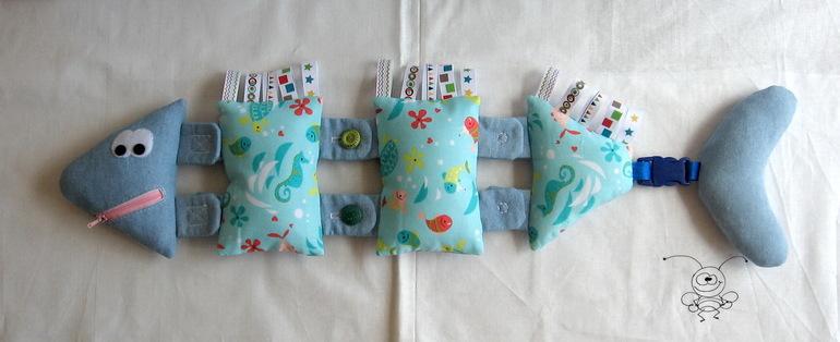 Развивающая игрушки для малышей своими руками