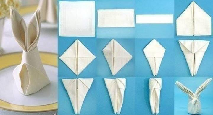Как из бумаги сделать салфетку