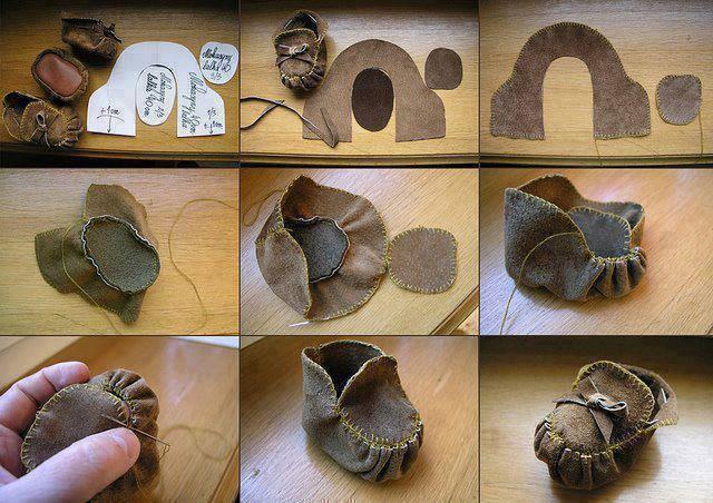 Сшить обувь своими руками на куклу