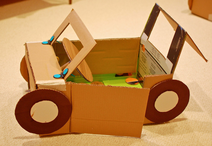 Смотреть как сделать игрушки из картона
